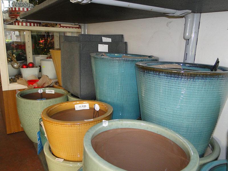 Vasi e sottovasi in terracotta plastica ceramica - Vasi ceramica esterno ...
